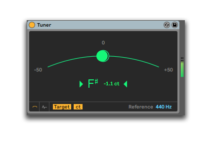 how to make your music sound better use abletons tuner