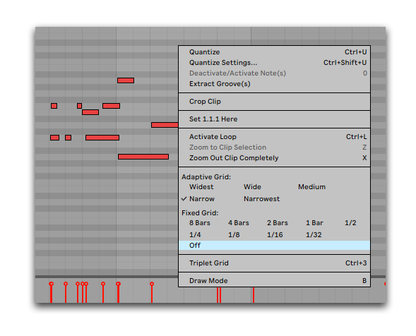 How To Make Melodies Turn Off Grid