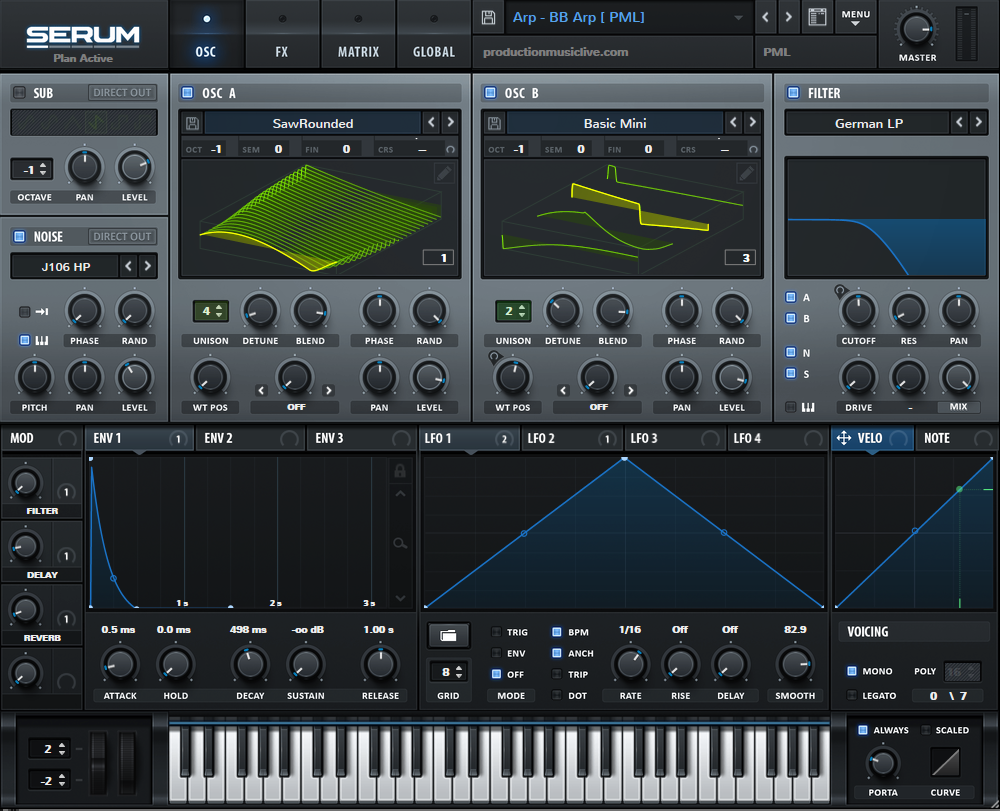 Serum is one of the best synths for beginners