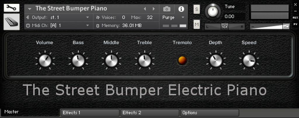 """Street Bumper"" Electric Piano - Kontakt Library"