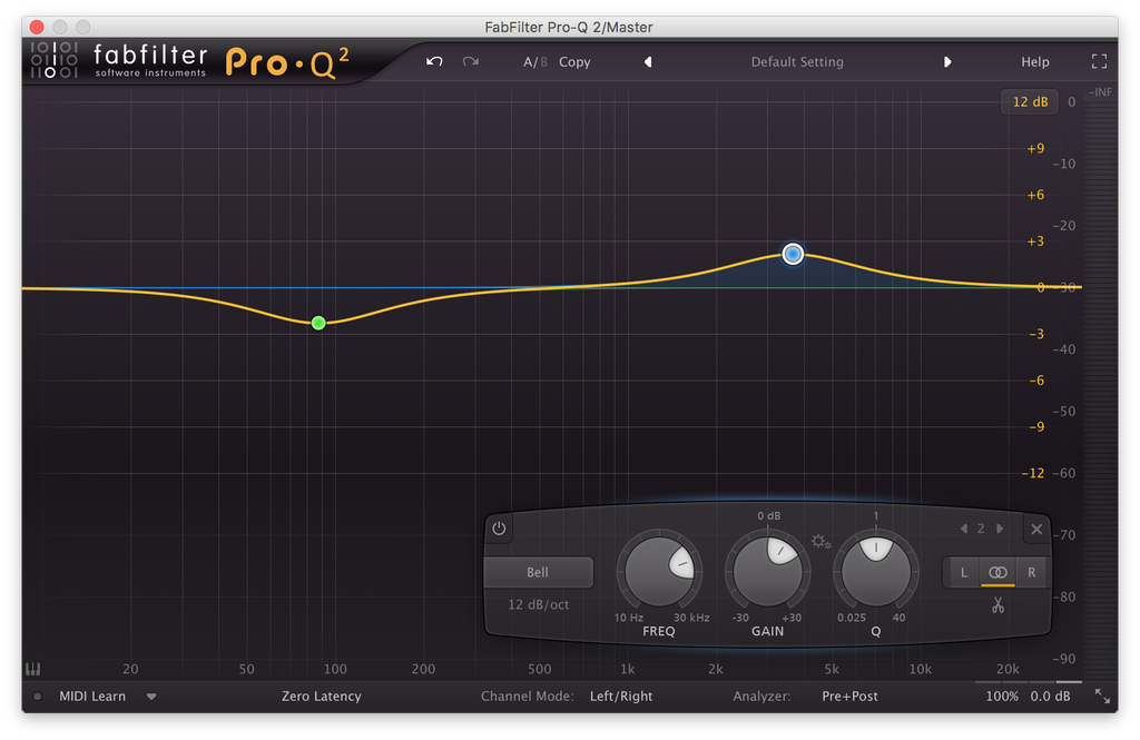 Ableton EQ8/FabFilter Pro-Q Mastering Chains