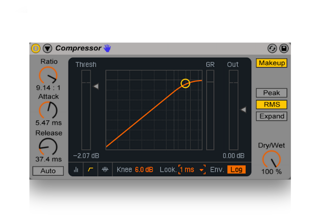 Ableton Stock Compressor Mastering Chains