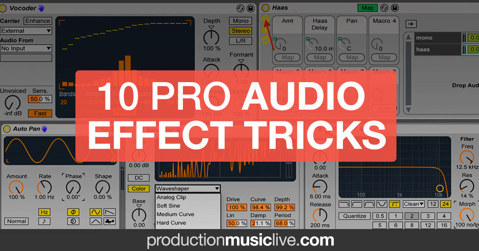 audio effect tricks