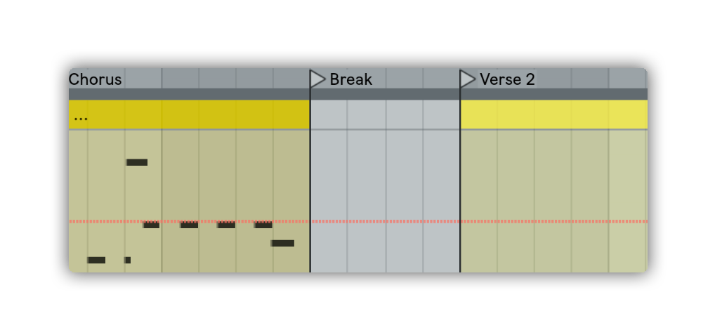break arrangement ableton