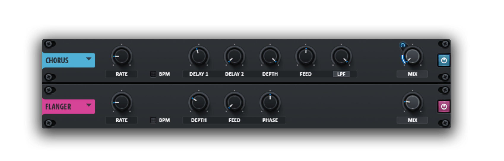 chorus flanger xfer serum production tips