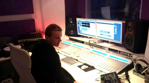 Francois in the studio