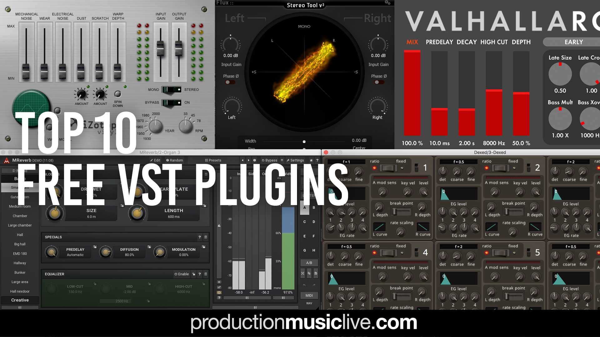 Best Vst Plugins 2020.Top 10 Free Vst Plugins 2019