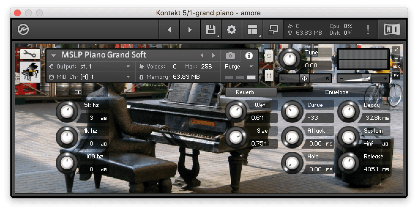 soft grand piano free kontakt instruments