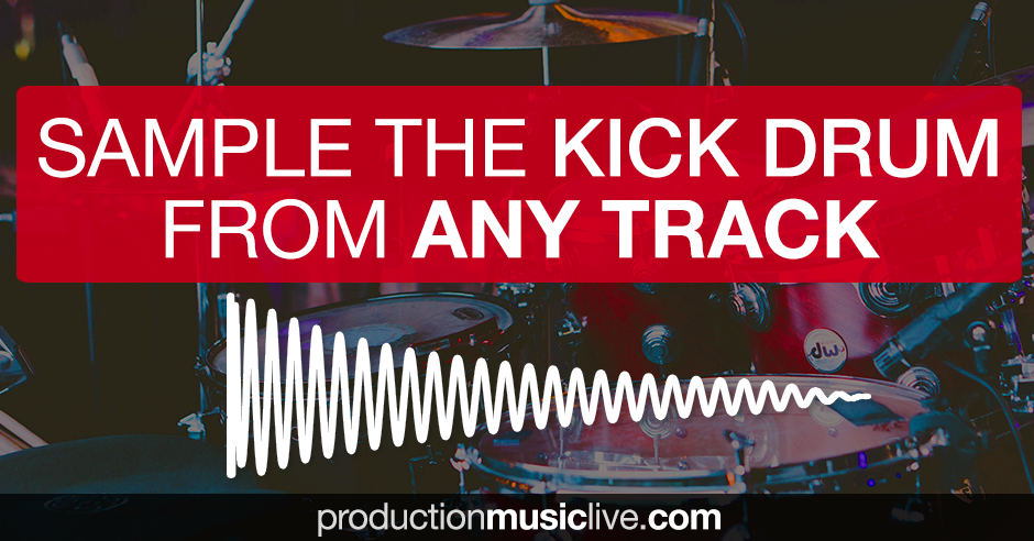 How to Sample the Kick Drum from Any Track