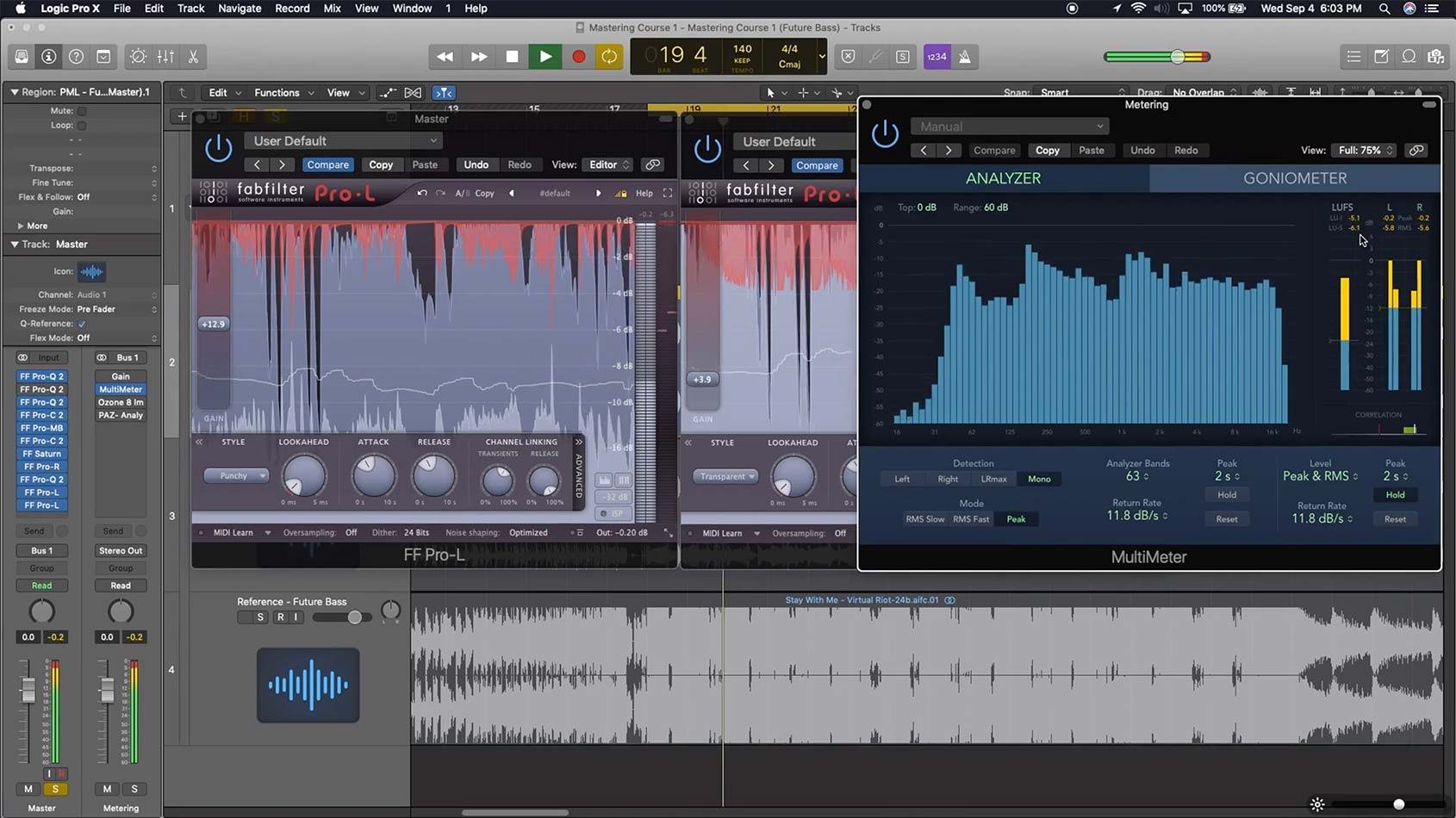 Mastering with Limiters in Logic