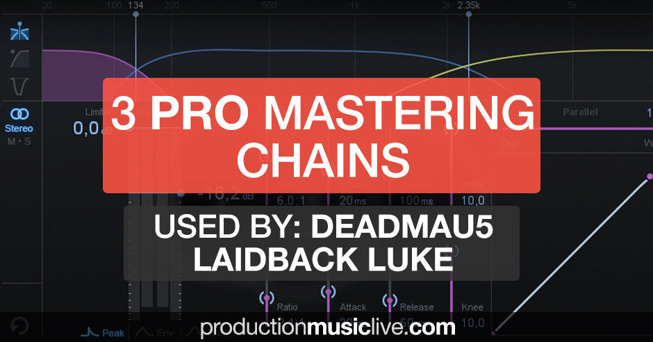 Professional Mastering Chains for Ableton