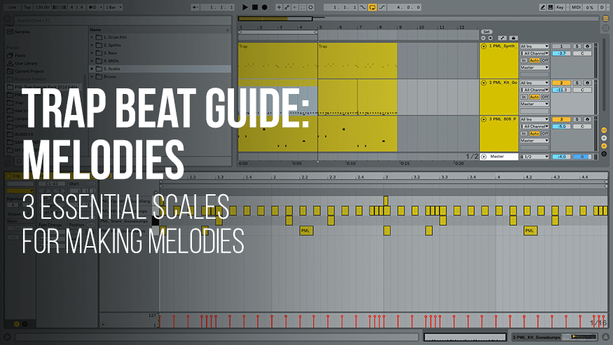 Trap Beat Guide: Melodies - 3 Essential scales for making