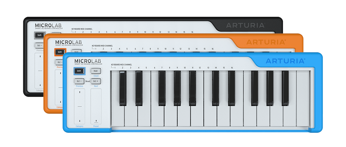 Arturia MicroLab best MIDI keyboard for music production