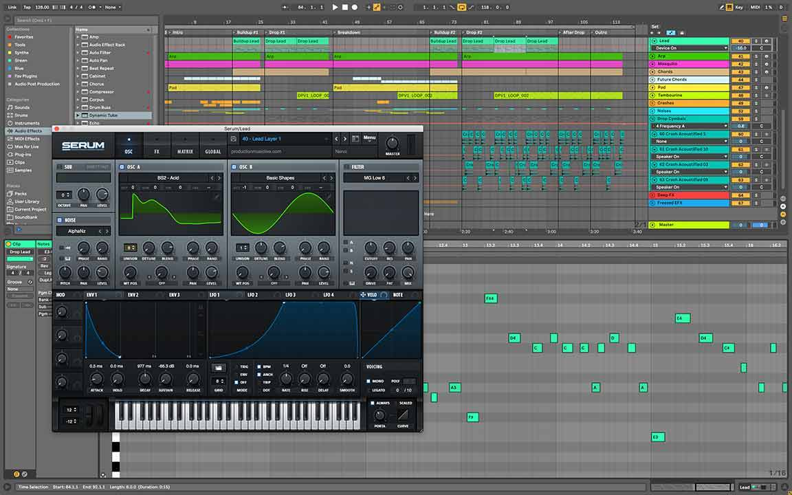 Moments Ableton Template Serum