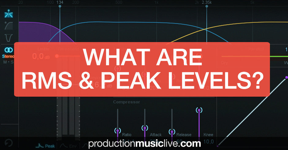 RMS and Peak level mastering