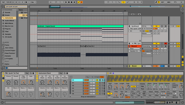 "Creating your own ""Synth"" in 10 Steps with Ableton Instrument Racks"