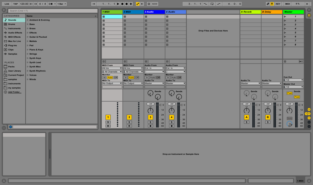 Open Ableton Software