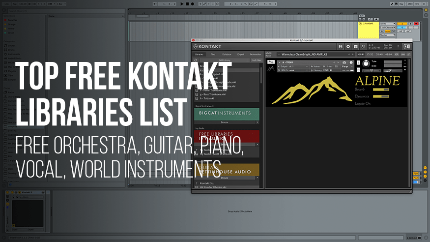 Top 20 Free NI Kontakt Libraries In 2019 - Free Orchestra