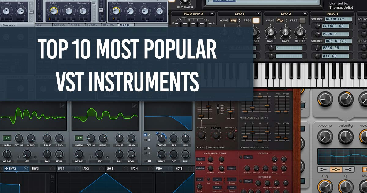 Best Bass Vst 2019 Top 10 VST/AU plugin synths 2019