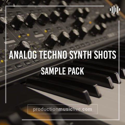 Analog Techno Synth Shots - Sample Pack