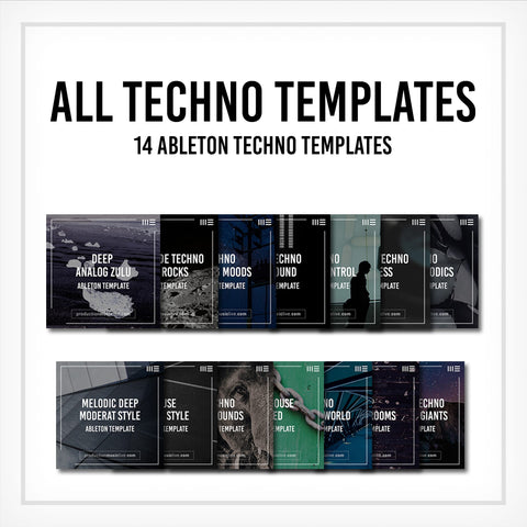 All Techno Templates - 14 Project Files