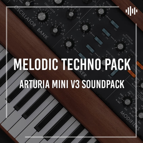 Arturia Mini V3 Sound Pack - Melodic Techno