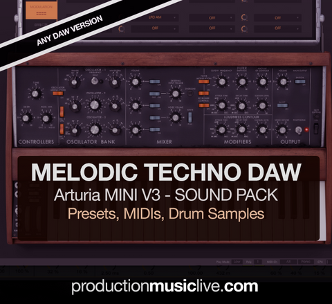 Arturia Melodic Techno Sound Pack - Any DAW Version