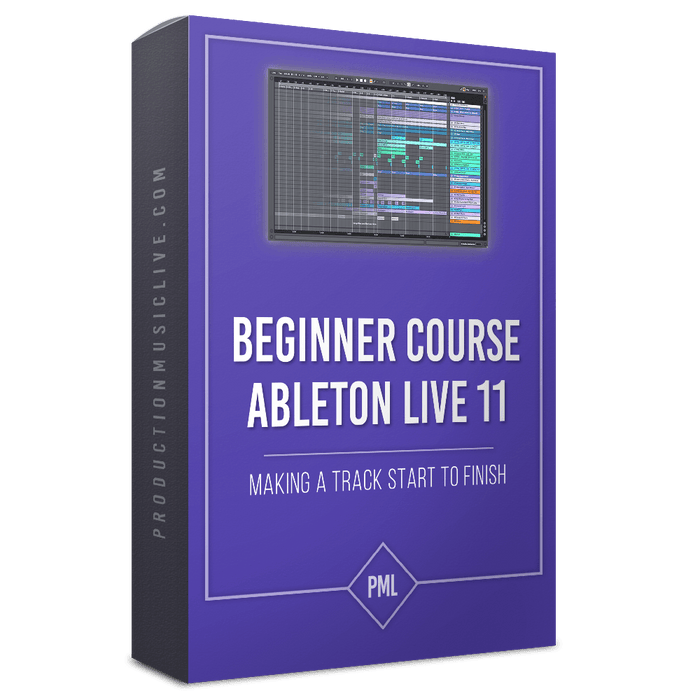 Product Box for Ableton Live 11 Start to Finish