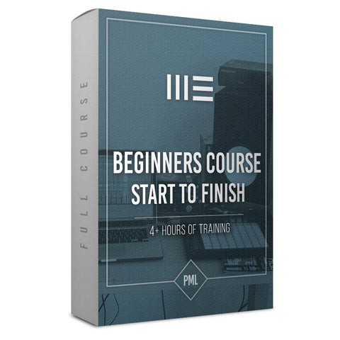 Beginners Course: Making A Track from Start To Finish in Ableton Live