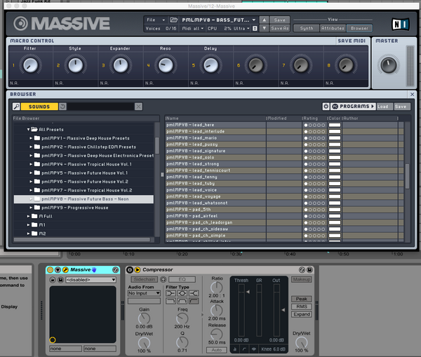 MASSIVE Presets: Future Bass