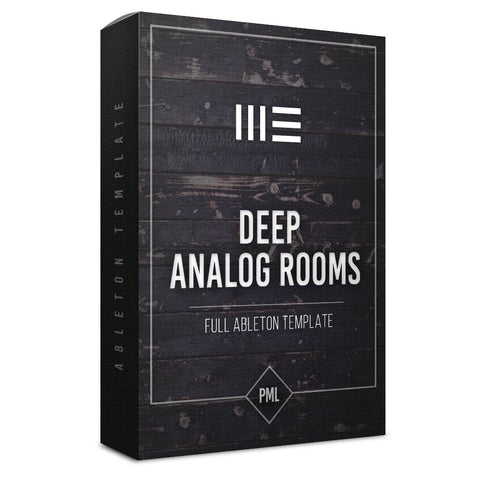 Analog Rooms - Techno Ableton Template