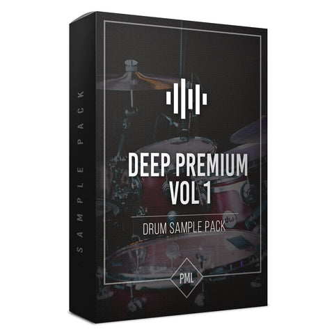 Deep Premium Vol.1 - Drum Sample Pack