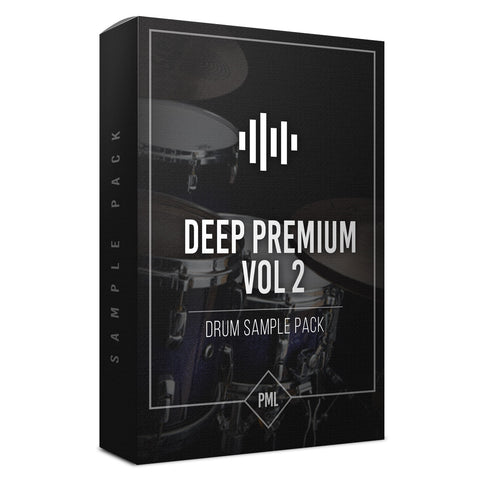 Deep Premium Vol.2 - Drum Sample Pack