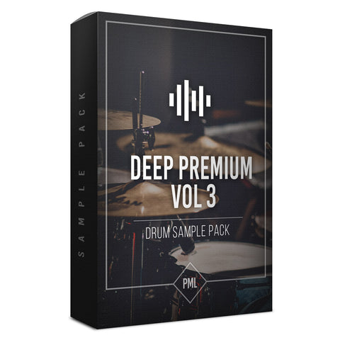 Deep Premium Vol.3 - Drum Sample Pack