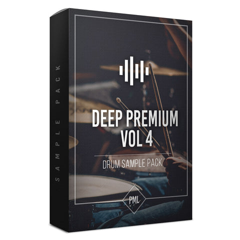 Deep Premium Vol.4 - Drum Sample Pack