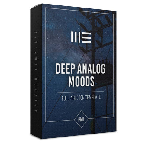 Analog Moods - Techno Ableton Template
