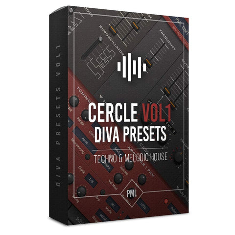 Cercle Sounds - Diva Preset Pack for Melodic House + Techno