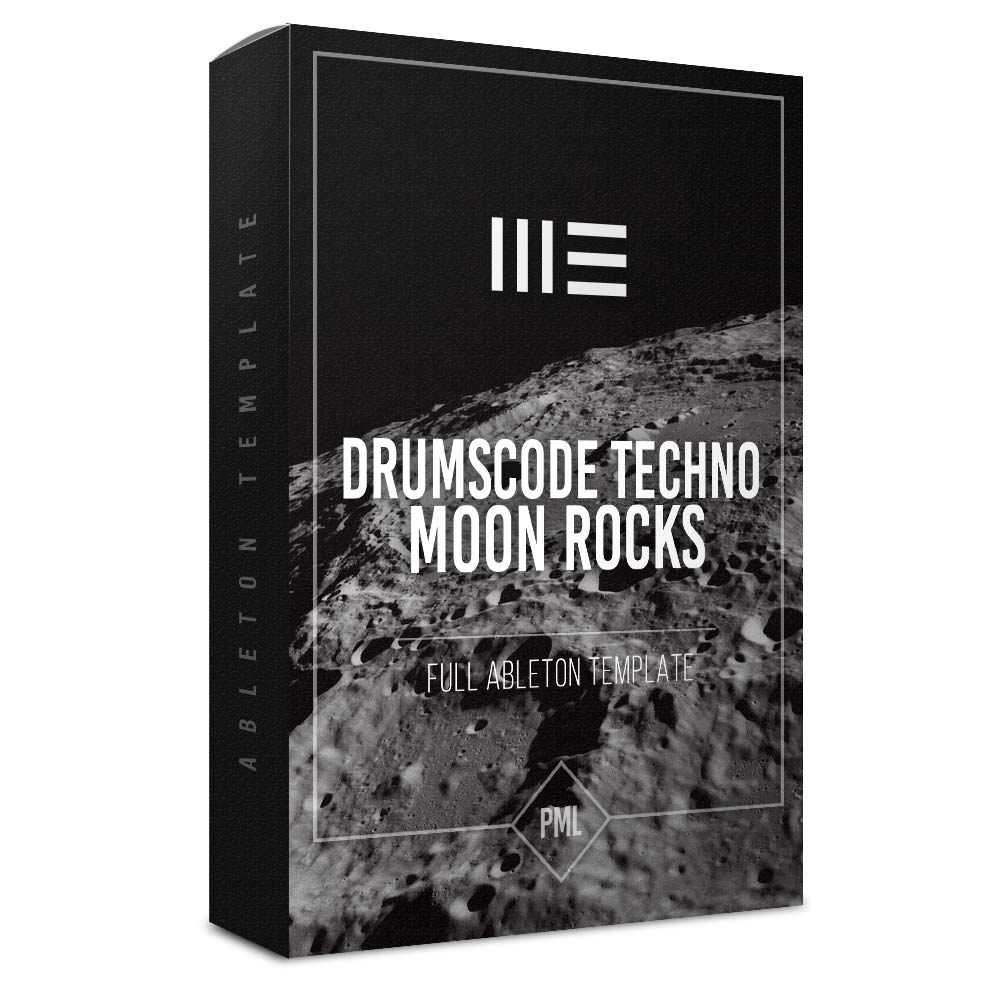Moon Rocks - Ableton Techno Template