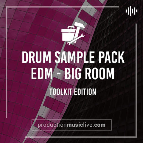 EDM Drum Sample Pack