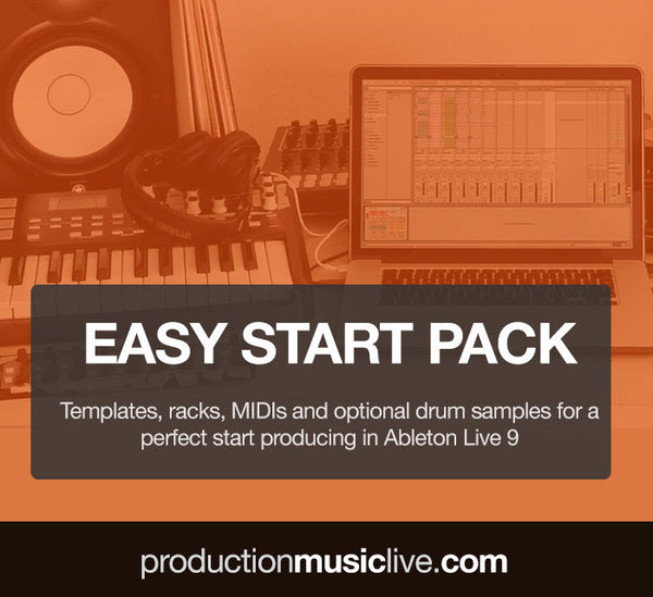 Easy Start Pack - Ableton Templates, MIDIs, Samples (more than 33% off)