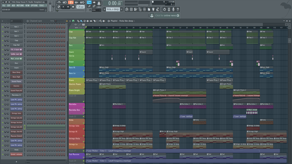 Felix Deep House - FL Studio Template