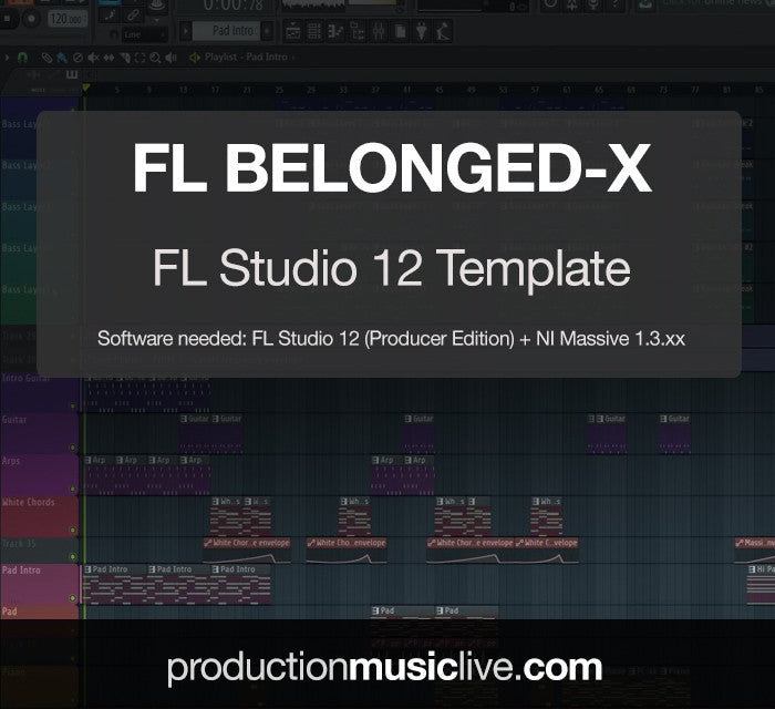 FL Belonged-x Deep House - FL Studio Template