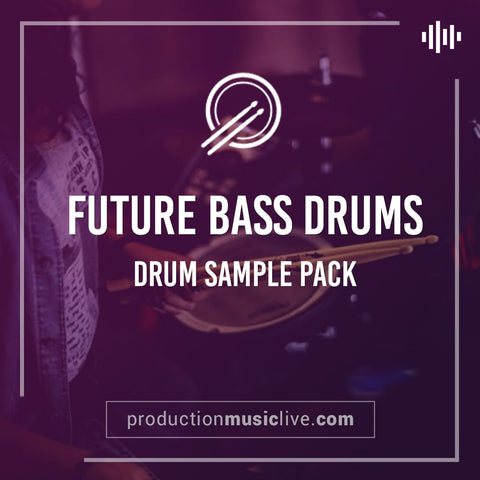 Future Bass Drums - Drum Sample Pack (+ optional Ableton Project)