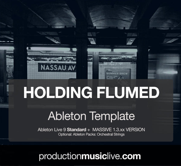 Holding Flumed - Ableton Template