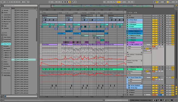 Illusions Progressive House  / Trance - Ableton Template