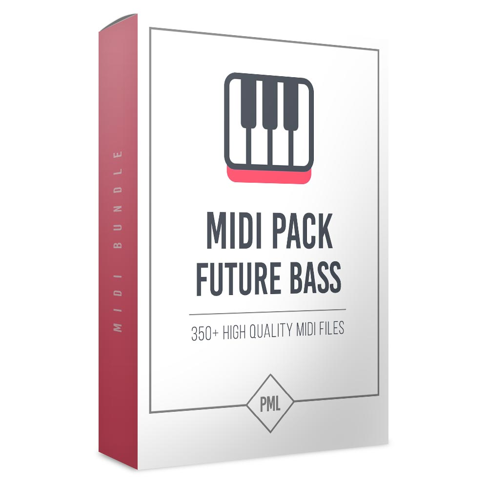 Future Bass Trap MIDI Pack (350+ Melodies, Chords, Snare-Fills and more)