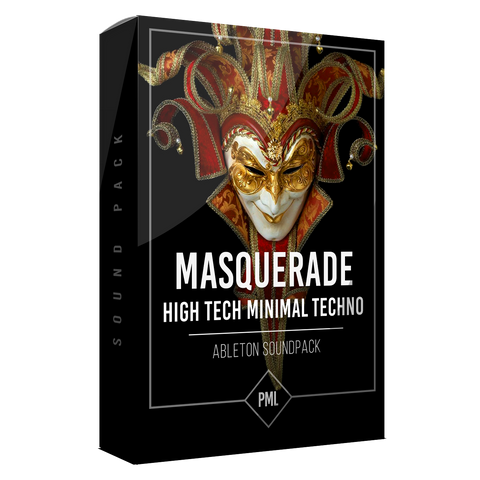 Masquerade Pack - High Tech Minimal Techno Sound Pack