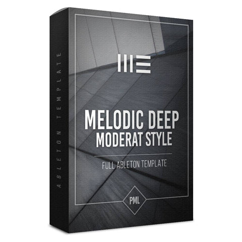 Moderat Styles - Melodic Deep Ableton Template
