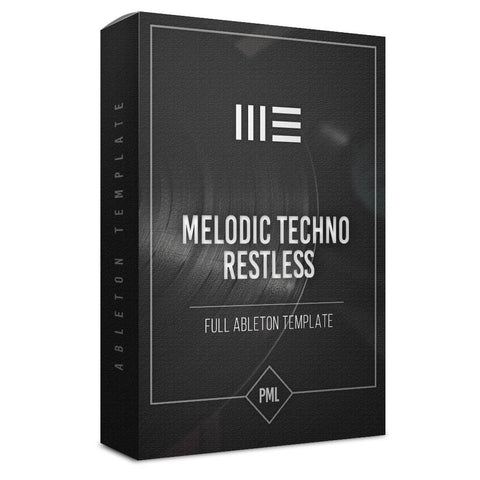 Restless - Melodic Deep Techno Ableton Template
