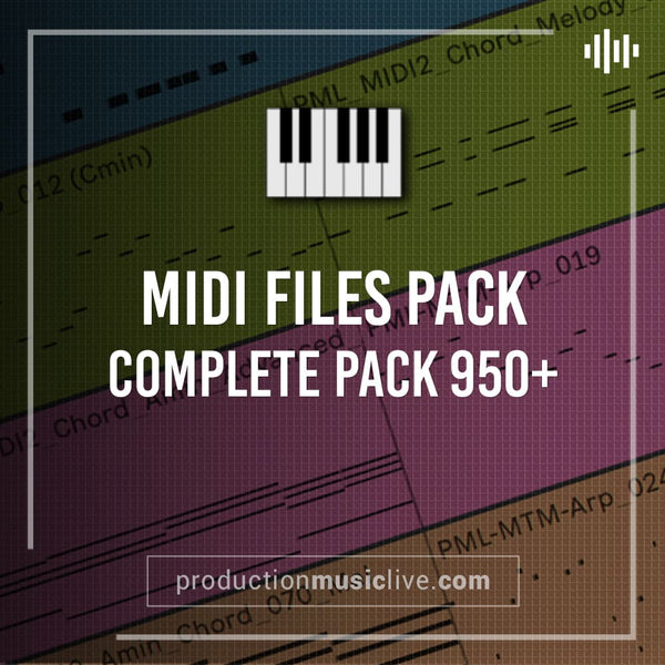 MIDI COMPLETE PACK (950+files)